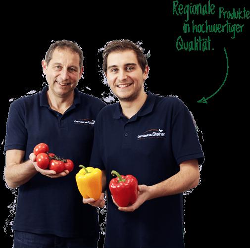 Regionale Produkte aus Kirchweidach in hochwertiger Qualität von Gemüsebau Steiner