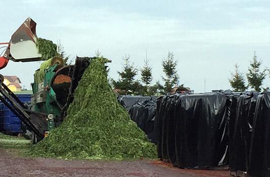 Gmüsebau Steiner: Wir verfolgen konsequent die Regeln der Mülltrennung für Recycling und Weiterverarbeitung
