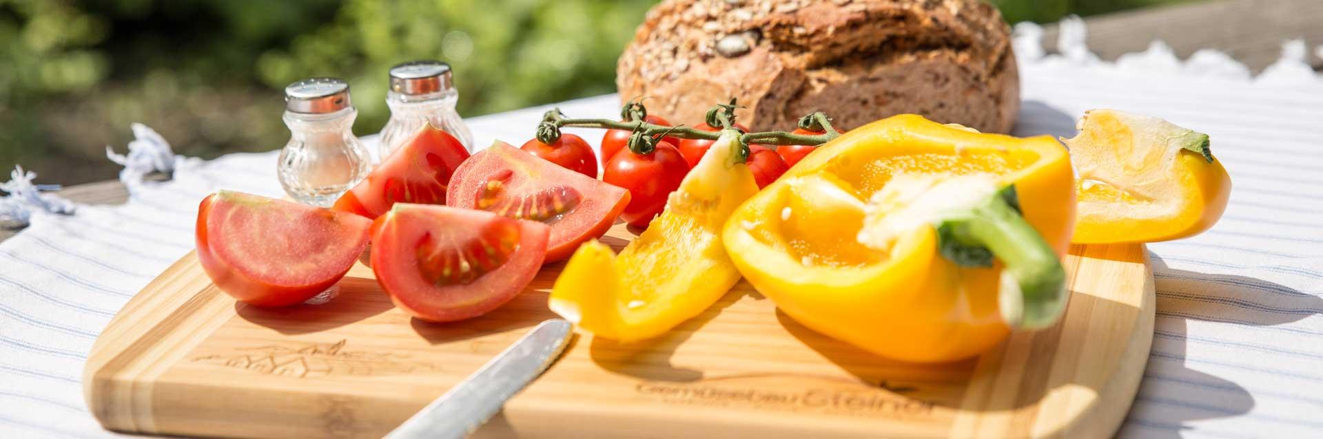 Regionale Ware aus Kirchweidach - Die beste Brotzeit mit Produkten von Gemüsebau Steiner