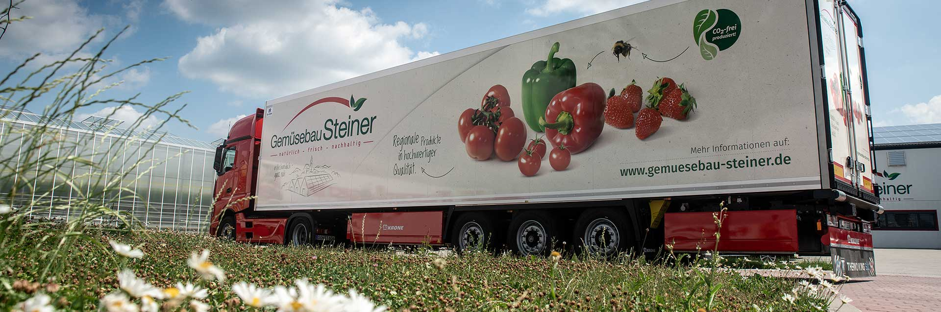 LKW 40 Tomnner mit Gemüsebau Steiner Design